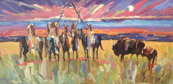 Sunset Pow-wow - Dawn Normali