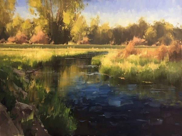 Water's Edge, Golden Hour - Stacey Peterson