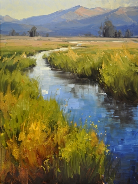 Mountain Stream - Stacey Peterson