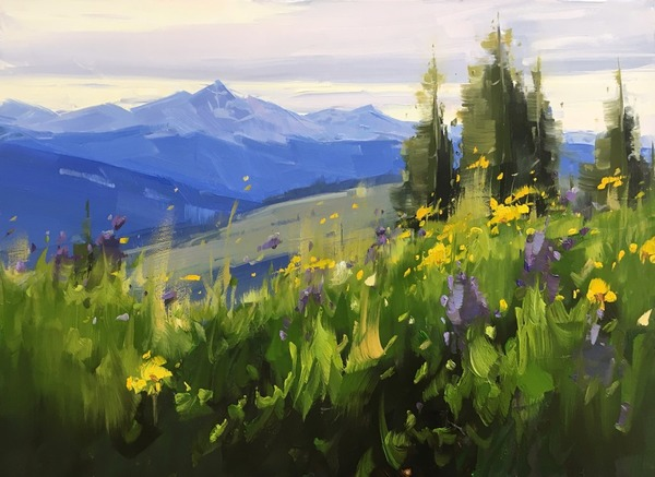 Shrine Pass Wildflowers - Stacey Peterson