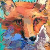 Portrait - Fox #1 - Jody Rigsby
